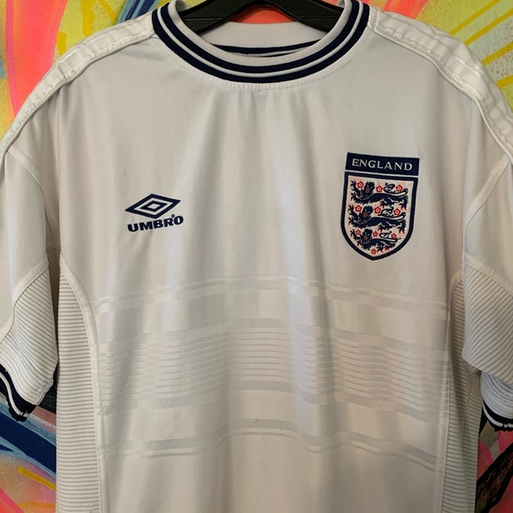 Umbro Other - Umbro Authentic England World Cup Jersey Sz L